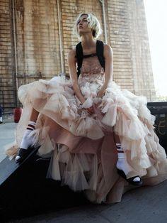 tulle dress #style #fashion #streetstyle