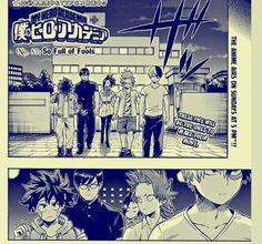 Boku no Hero Academia Manga. #20