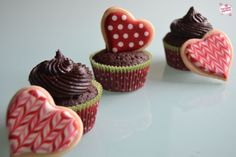 Cupcakes de chocolate #cupcakes #chocolate