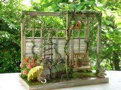 2013年04月 : Fates smile - Garden swing