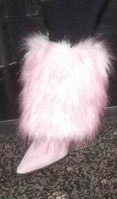 $29.99 Sock that changes your boot into fur!!  Amazing, afforable and adorable!!
