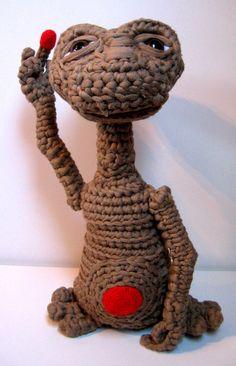 ET - El Extraterrestre de Trapillo / KeChulo.com - Artesanio