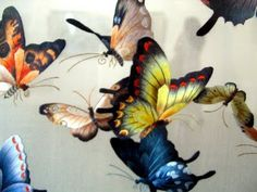 Chinese silk embroidery on translucent silk.  OMG.