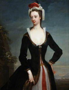 Lady Mary Wortley Montagu (1689–1762), Jonathan Richardson the elder, c. 1718. Museums Sheffield