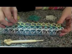 Ocean Wave Rainbow Loom Tutorial - YouTube