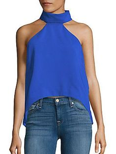 Finders Keepers Halter Neck Sleeveless Top -
