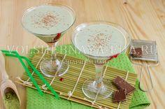 Молочный коктейль с чаем матча