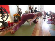 Shiva Rea: The Art Of Yoga    I love her flow and the look on her face. Shiva Rea is a yoga rock star.