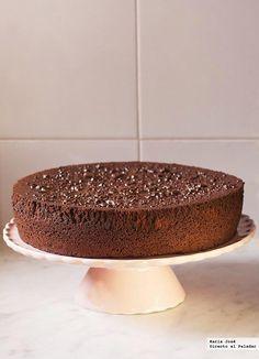dark chocolate with orangesponge cake