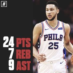 Ben Simmons continues to impress as the Sixers take down the Rockets in Houston  #NBA #Philadelphia #76ers #Sixers #BenSimmons
