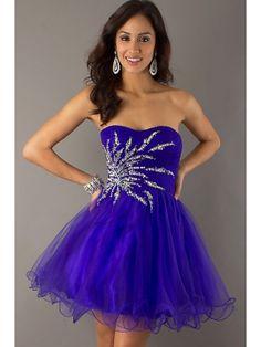 Fabulous Regency A-line Scoop Neckline Mini Beadings Homecoming Dress