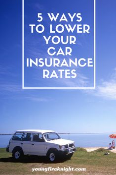 Sick of paying high prices for your car insurance? Here are 5 surefire ways to lower yours! Living Within Your Means, How To Move Forward, Car Insurance Rates, Surefire, S Car, Early Retirement, Peace Of Mind, 5 Ways, Knight