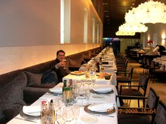 Un aspecto del restaurante comedor del Parador de Alcalá de Henares...