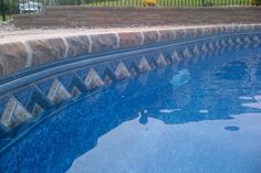 New Pool With Tanning Shelf Pools Pinterest Shelves