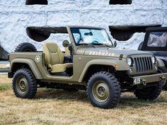 Jeep Wrangler 75º Salute Concept