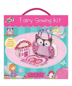 Take a look at this Fairy Sewing Set by Galt Toys on #zulily today!