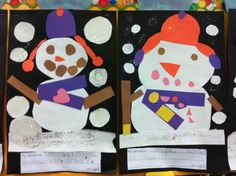 Welcome to Room 36!: snowman fun