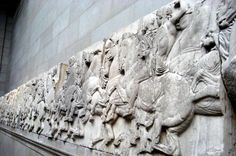 Elgin Marbles: A Piece of The Parthenon in London Sculpture Painting, Lion Sculpture, Elgin Marbles, Photo Search Engine, Classical Greece, London Museums, Parthenon, Centaur, British Museum