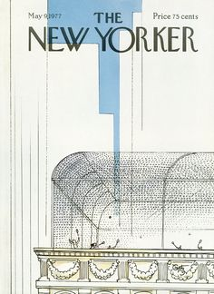 The New Yorker - Monday, May 9, 1977 - Issue # 2725 - Vol. 53 - N° 12 - Cover by : Arthur Getz
