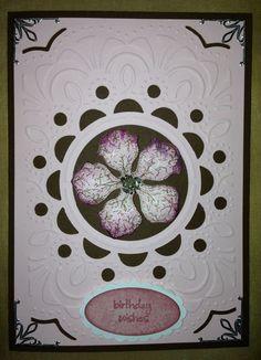 Cottage Window Xcut Cut /& Emboss Scrapbook Paper Craft Folder 110x150mm