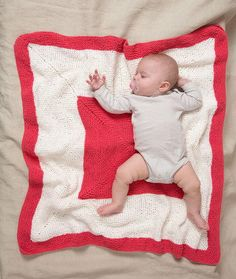Any little one will love cuddling up with this Hip to Be Square Baby Blanket. This wonderfully soft free knitting pattern for babies features plush chenille yarn perfect for cuddling with little ones. The graphic square design makes this knit blanket