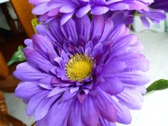 Daisies Flower Pens Light Purple Lavender Yellow by GiftCreation, $27.50