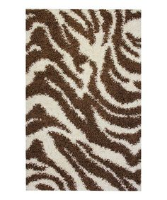 take a look at this brown zebra safari shag rug by infinity home source on