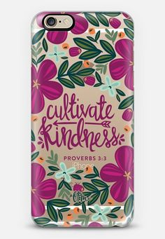 Cultivate Kindness iPhone 6 case by French Press Mornings | Casetify