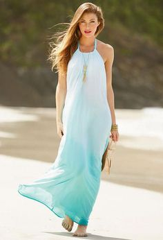 Elan Gauze Maxi Dress
