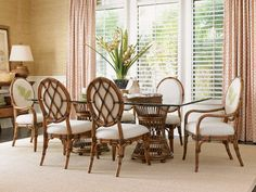 "84"" Aruba Rectangular Dining Room Set | Lexington | Home Gallery Stores"