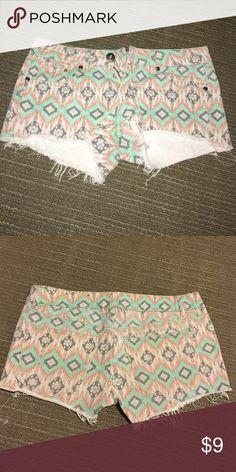 Kohls shorts Tribal shorts Shorts Jean Shorts