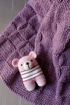 punto bobo y jersey lo tenéis chupado! Crochet For Boys, Knitting For Kids, Knitting Projects, Baby Knitting, Free Baby Patterns, Knitting Patterns Free, Knitted Blankets, Knitted Hats, Crochet Toys