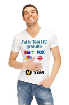 Liste des canaux de télévision dont vous pouvez recevoir le signal en HD au Québec. Signal, Diffusion, T Shirt, Tops, Antenna Tv, Supreme T Shirt, Tee, Shell Tops, Tee Shirt