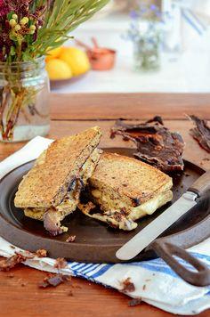 Salty, cheesy, crispy... Almost too good to be true! Who has HEBA braai broodjies on their menu this weekend? Recipe: bit.ly/BantingBlvdBlog Weekend Recipe, Sandwiches, Menu, Recipes, Food, Menu Board Design, Recipies, Essen, Meals