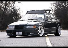 stunning #bmw #e36 eurospec I want my 4-door like this but with light powder blue rims!!