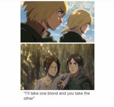 I don't ship eren and armin, but the ship is cute, I've got to admit.💕