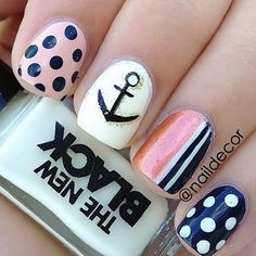 Sailor girl theme. Would go great with a navy romper.