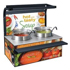 """Hatco's """"hot and tasty"""" Soup Station (120 volt) provides an attractive appearance"""