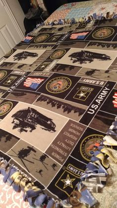 United States Army Blanket / Small - Medium / US Army / Military Blanket / Veteran Blanket / Graduate Blanket / Mother's Day / Father's Day Homemade Blankets, Army Recruitment, Tie Blankets, Military Branches, United States Army, Us Army, Etsy Shop, Medium, Check