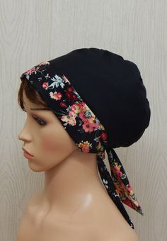 This hand made head scarf, can be worn in many ways. It can be used for cancer patients, chemotherapy patients, for Orthodox Jewish women, for muslim women, etc. Its also very comfortable, to use in all house work, for example while cleaning or painting your house. Head scarves can be used when youre having a bad hair day, or even to put it on if you have wet hair and have to rush to go outside. Its very stylish and comfortable, it looks good on all face forms and types, and any skin colour…