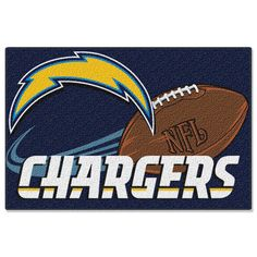 San Diego Chargers NFL Tufted Rug (30x20)
