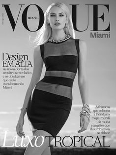 """forthosewhocravefashion: """" Candice Swanepoel by Mariano Vivanco for the Vogue Brasil July 2014 Supplement Cover """""""