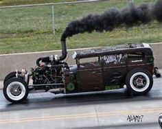 DIESEL RATROD!!!! Not many people get to say they rode in this beauty