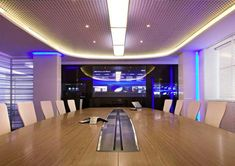 This is one amazing meeting room...