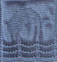 Free+Knitting+Pattern+-+Dishcloths+&+Washcloths+:+Dolly+the+Dolphin+Cloth