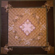 Coffee and Cream quilt - love the colors: www.jennyhaskins.com