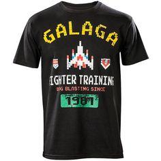 Galaga Fighter Elite T-Shirt -- aww yeah!
