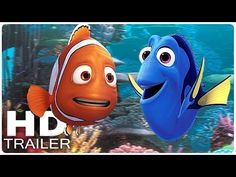 FINDET DORIE Alle Trailer + Clips German Deutsch | Dory | Disney Filme 2016 - YouTube
