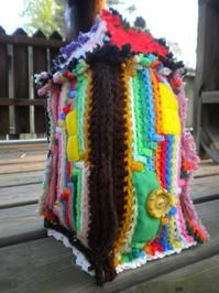 Fiber artist Tiffany Dyer has created a crochet fortress that will be on display in Nashville for most of May. It is an installation piece actually titled Fortress that is on exhibit at Blend Studio in the city's downtown region.