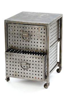 2 Drawer Industrial Storage Unit